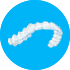 Symbol of an Invisalign dental device